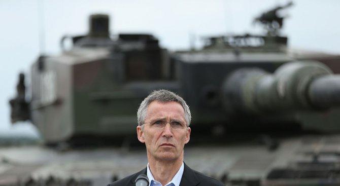 Военните разходи на европейските членки на НАТО растат за първи път от близо десетилетие