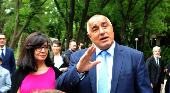 Борисов: Моят принцип винаги е бил - правиш, показваш и ги оставяш да коментират