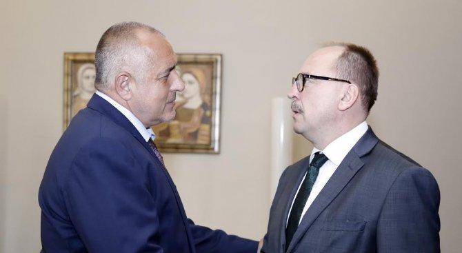 Борисов се срещна с докладчиците на ПАСЕ по пост-мониторинговия диалог (снимки)