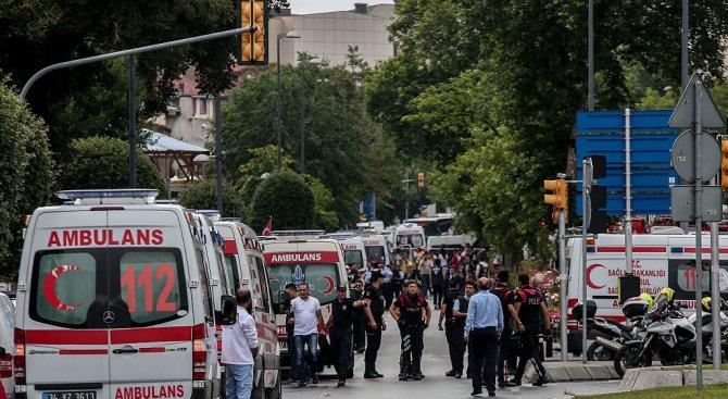 Кола-бомба гръмна в Турция. Има убити (обновена+видео)