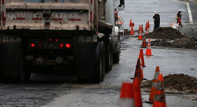 Ремонтират част от пътя по границата със Сърбия