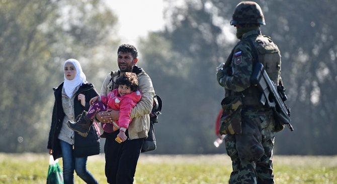 Хърватия сложи ограда на границата си със Сърбия