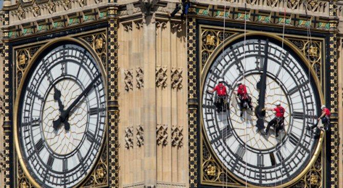 През 2017 г. спират един от символите на Лондон - Биг Бен