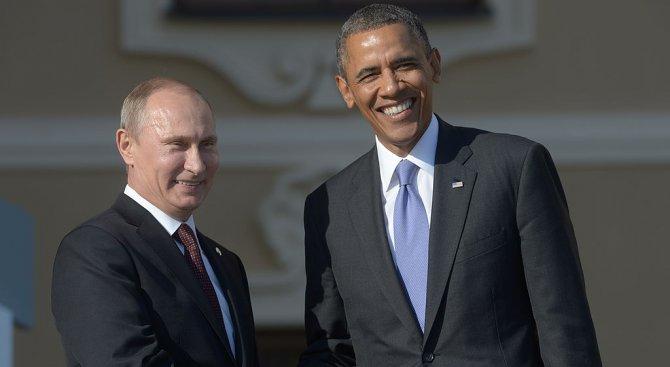 Путин изпрати послание на Обама по случай 4 юли