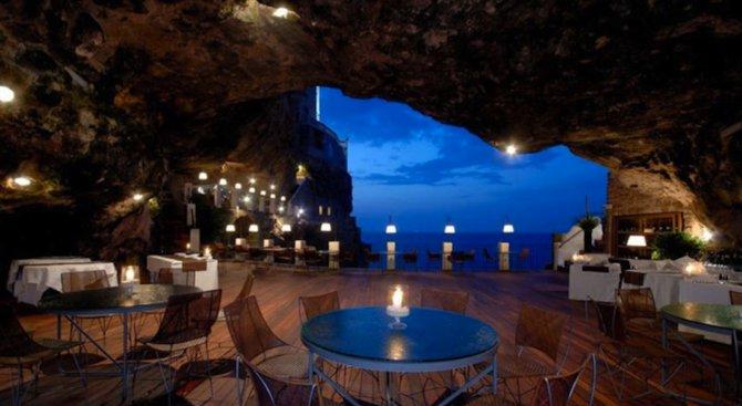 Това може би е най-романтичният ресторант в света