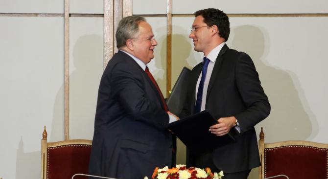Даниел Митов проведе среща с гръцкия си колега Никос Кодзияс