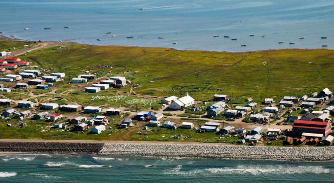 Американско селище в Аляска гласува да се пресели заради климатични промени