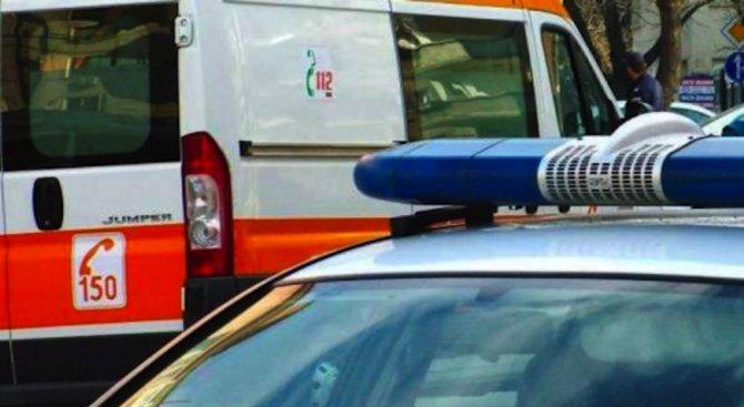Жестока катастрофа с един загинал и четирима ранени в Пловдивско (обновена)