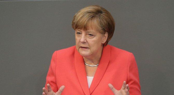 Меркел разкритикува страните в ЕС, които не желаят да приемат мюсюлмански бежанци