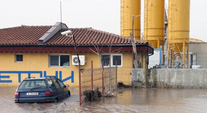 Нова система ще предупреждава жителите на Бургас за опасност от наводнения