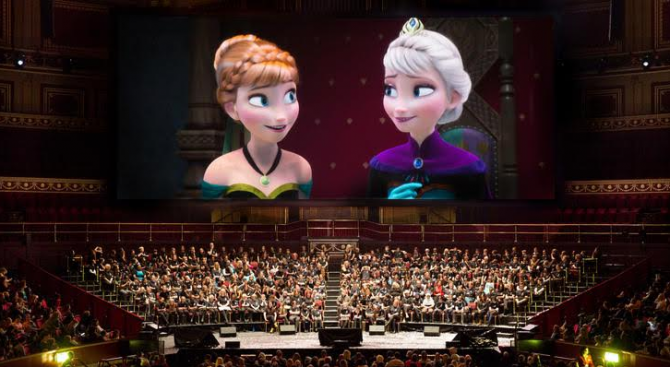 """Disney Concerts представя """"Замръзналото кралство: филм с музика на живо"""" за първи път в България"""
