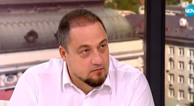Мъжът, насинил окото на Сидеров, кандидат-президент
