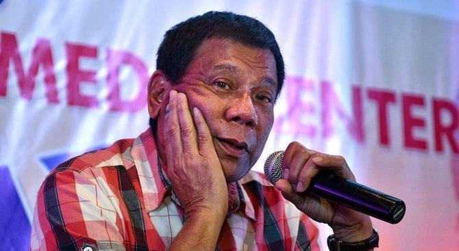 """Президентът на Филипините обяви """"положение на беззаконие"""" на остров Минданао"""