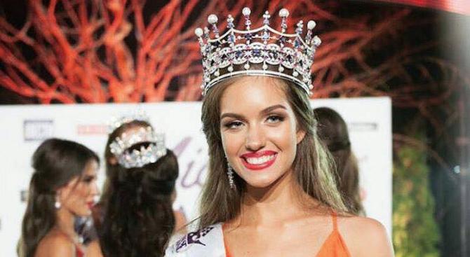 ''Мис Украйна 2016'' не знае кой ѝ е премиер (снимки)