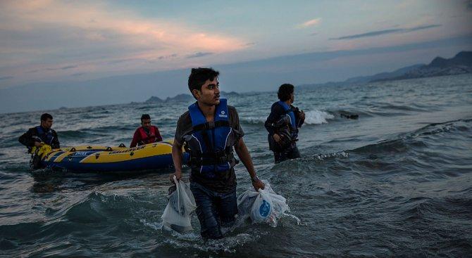 70% по-голям наплив на мигранти към Гърция