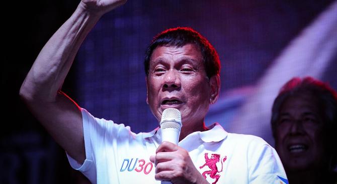 Филипинският президент убил човек преди 23 г.