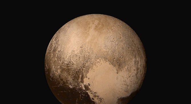 Ново любопитно откритие за Плутон (снимка)