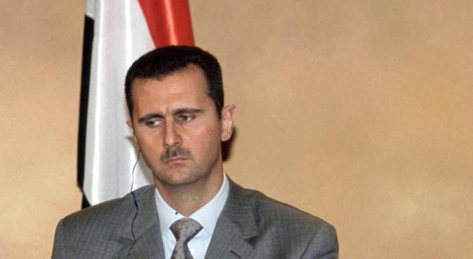 Асад: Водената от САЩ коалиция извърши в събота явна агресия срещу Сирия