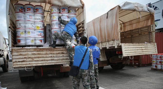 ООН: Готови сме да изпратим хуманитарна помощ за Сирия