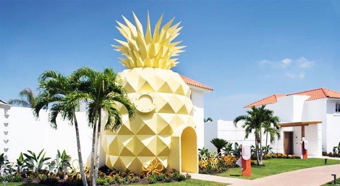 Първата вила ананас посреща посетители (видео)
