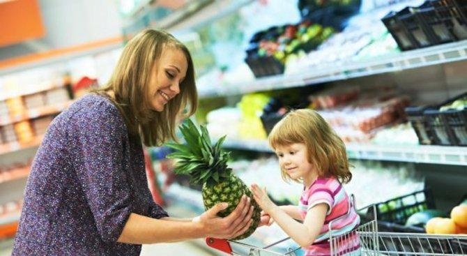 Здравословното хранене и детето