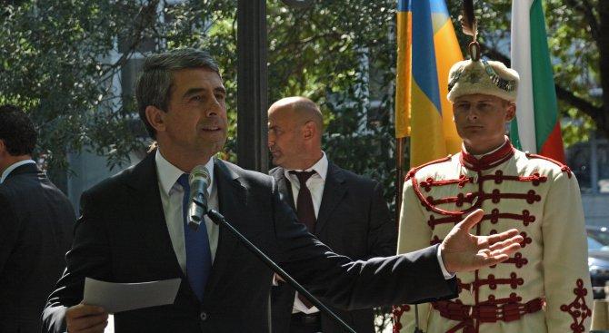 Плевнелиев: Заставаме зад стремежа за сигурност в Европа