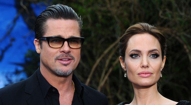 Анджелина Джоли и Брад Пит почти не си говорили на медения си месец