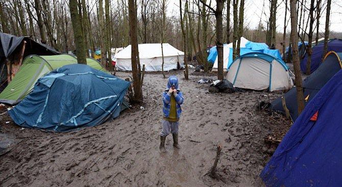 Евакуацията на мигрантския лагер край Кале започва в понеделник