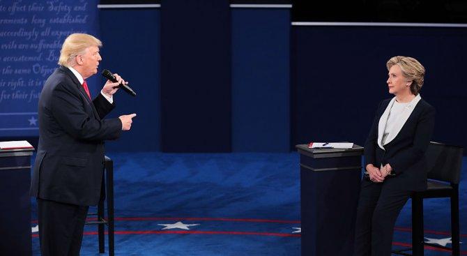 Ню Йорк таймс предрече победа на Хилари Клинтън