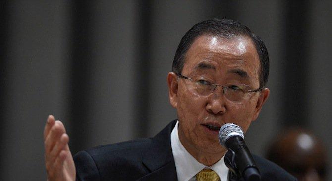 Бан Ки-мун приветства влязлото днес в сила глобално споразумение за климата