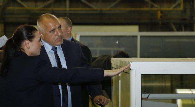 Борисов: Максимално сме се постарали да помогнем на всички слоеве от населението (обновена+снимки+ви