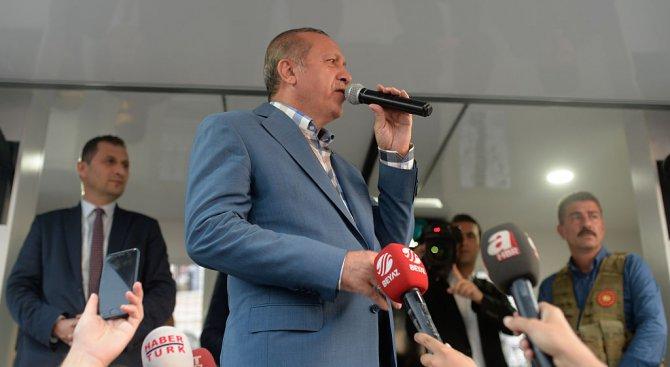 Реджеп Ердоган: Кредитите от МВФ са нов вид робство