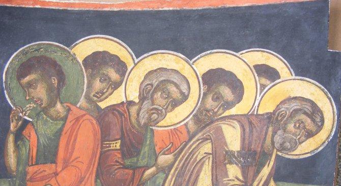 Реставрираха стенописите в Драгалевския манастир (снимки)