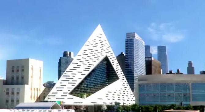 Пирамида в Манхатън спечели архитектурна награда за висока сграда