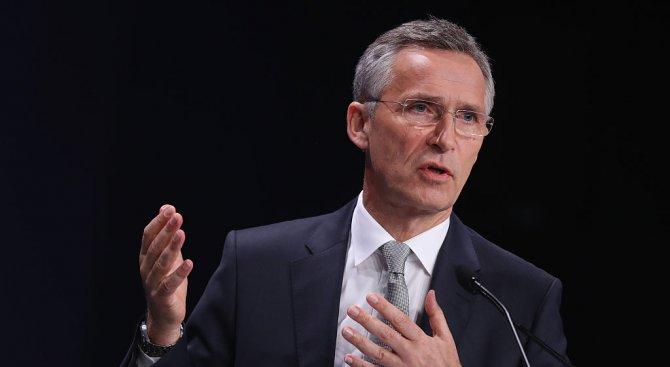 Столтенберг: Европа и САЩ не могат поотделно да се справят с проблемите в сигурността