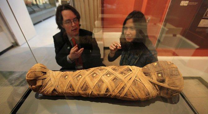 Археолози откриха хилядолетен саркофаг с мумия в ''много добро състояние''