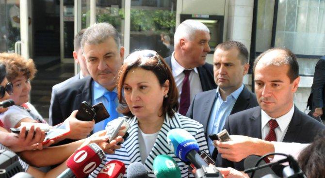 В новия бюджет на МВР не достигат средства за основни дейности, разкри Бъчварова