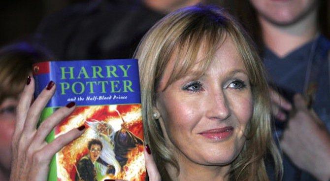 """Авторката на """"Хари Потър"""" изпраща книгите си на дете в Сирия"""