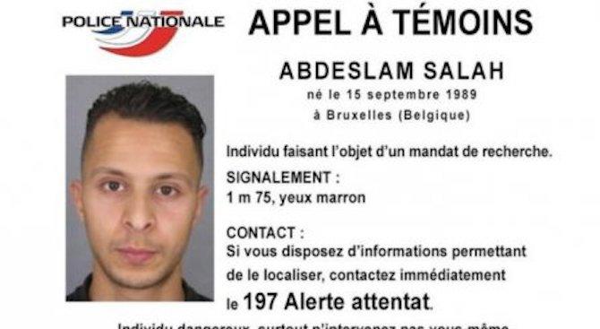 Белгия отне правото на престой на Салах Абдеслам