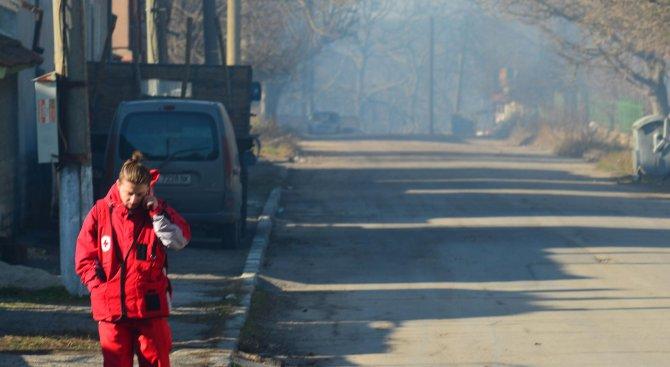 Мобилна автоматична станция от Варна следи за чистотата на въздуха в Хитрино