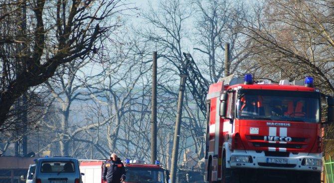 Осигурено е необходимото количество вода за гасене на пожара в с. Хитрино