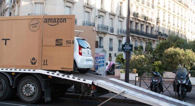 Поръчваш Seat Mii by Mango от френския Amazon и го получаваш до 72 часа (видео)
