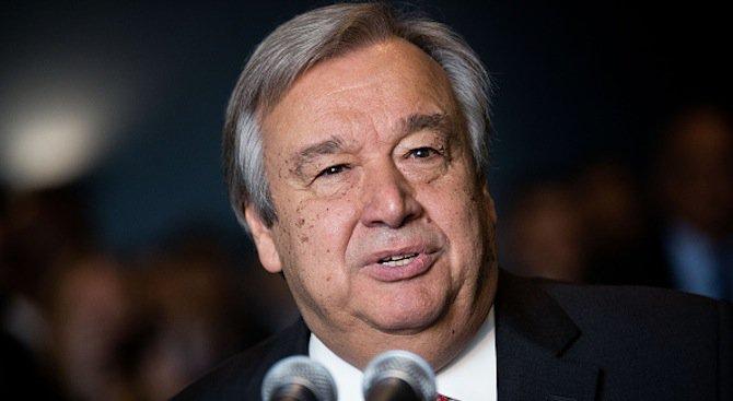Антониу Гутериш положи клетва като ген. секретар на ООН