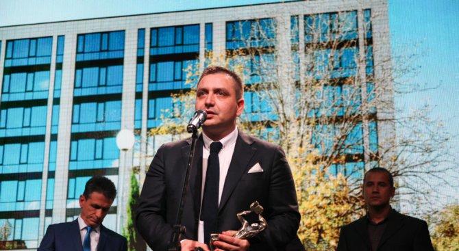 Галакси Инвестмънт Груп със специална награда за проекта Офис Парк Пловдив
