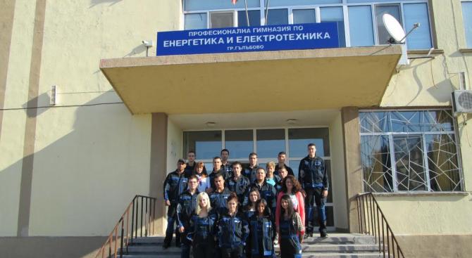 Мащабен ремонт на Професионалната гимназия в Гълъбово