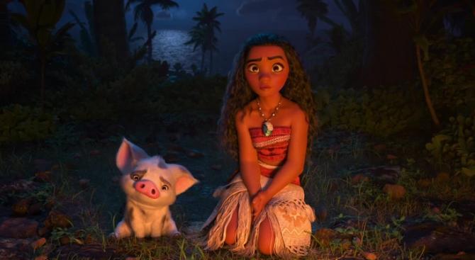 """""""Смелата Ваяна"""" продължава да е най-гледаният филм у нас"""