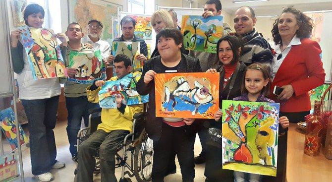 Деца с епилепсия рисуваха благотворително