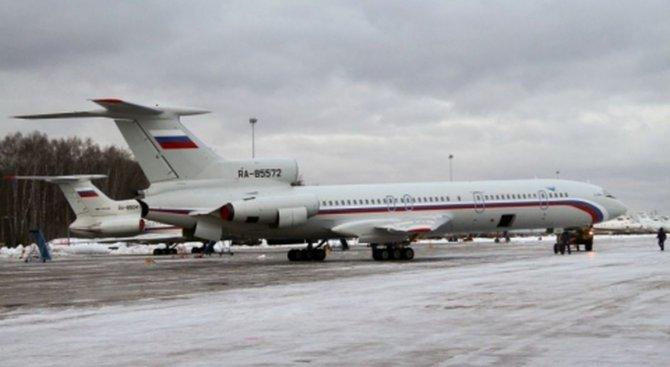 Втората черна кутия на руския Ту-154 е в добро състояние
