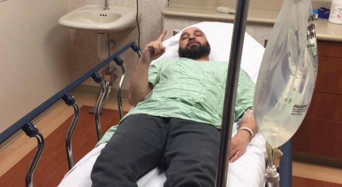 Мишо Шамара в болница с камъни в бъбреците