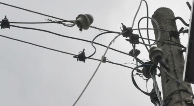 Възстановено е електрозахранването във всички населени места в област Добрич
